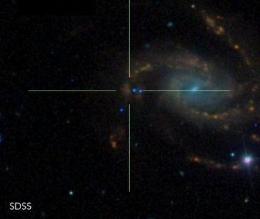 NGC 7610, supernova,star, space,