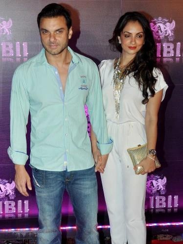 Sohail Khan's and Seema Sachdev