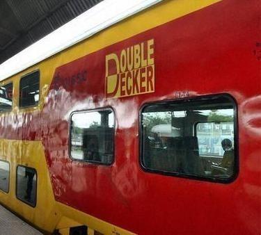New AC Double-Decker Train Between Delhi-Jaipur