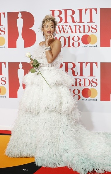 Rita Ora,Nadine Coyle,Dupa Lipa,Jade Thirwall,Jack Whitehall,Ronan Keating,Storm Keating,Tallia Storm,BRIT Awards 2018,BRIT Awards,celebs at BRIT Awards 2018