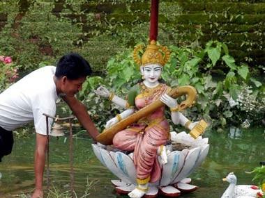 Representational Image of Goddess Saraswati (Reuters)
