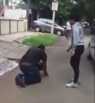 Woman Chases Molestor
