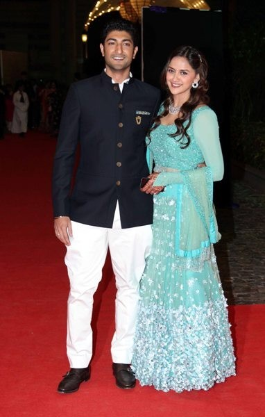 Sangeet Ceremony of Ahana Deol and Vaibhav Vora