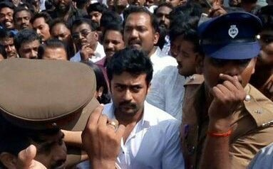 Suriya,Sivakarthikeyan,Suriya pays last respect to CM Jayalalithaa,Sivakarthikeyan pays last respect to CM Jayalalithaa,Suriya last respect to CM Jayalalithaa,actor Suriya,last respect to CM Jayalalithaa,last respect to Jayalalithaa,J Jayalalithaa