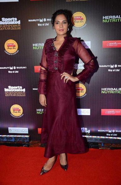 Richa Chada,actress Richa Chada,Inside Edge promotions,Richa Chada dress,Richa Chada fashion