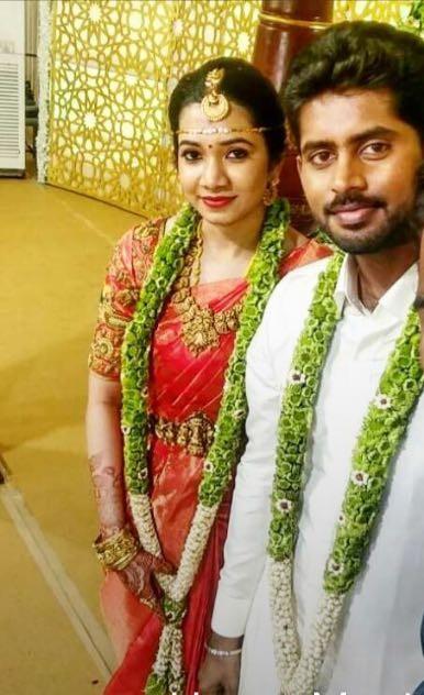 Kathir,Kathir wedding,Kathir marriage,Kathir weds Sanjana,Kathir and Sanjana wedding,Kathir and Sanjana marriage