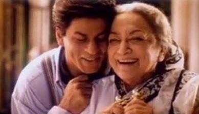 Shah Rukh Khan and Ava Mukherjee in Devdas