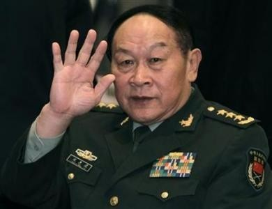 Chinese Defence Minister General Liang Guanglie Lie