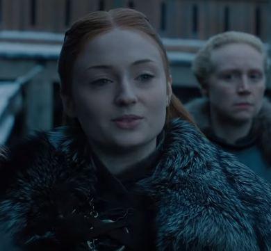 Sansa greets Dany