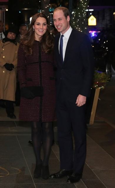 Prince William and Kate Middleton in New York.