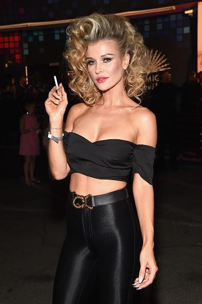 Joanna Krupa,Joanna Krupa curves,model Joanna Krupa,Joanna Krupa flaunts her curves,Joanna Krupa at Halloween bash