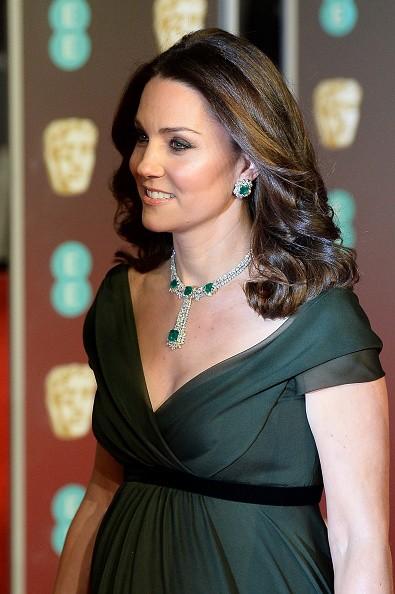 Kate Middleton,actress Kate Middleton,Kate Middleton defies black dress code,Kate Middleton at Bafta Awards 2018,Bafta Awards 2018,Kate Middleton pics,Kate Middleton wallpaper
