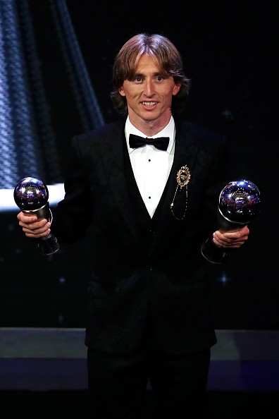 The Best Fifa Football Awards,Football,Luka Modric,Fifa,Croatia,Mohamed Salah,Sport,Luka Modric Fifa Player of the Year Award,Marta of Orland Pride