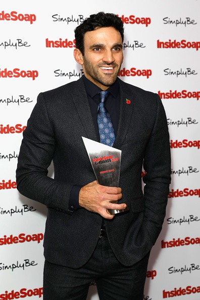 Natalie J Robb,Lucy Fallon,Davood Ghadami,Rachel Adedeji,Dominic Brunt,Inside Soap Awards 2017,Inside Soap Awards,Inside Soap Awards 2017 winners
