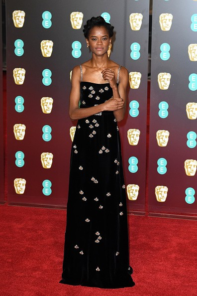 Angelina Jolie,Loung Ung,Sam Claflin,Letitia Wright,Gemma Arterton,Bafta Awards 2018,celebs at Bafta Awards 2018,Bafta Awards 2018 pics,Bafta Awards 2018 images