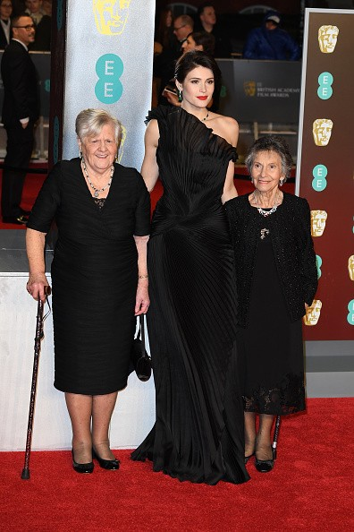 Angelina Jolie,Loung Ung,Sam Claflin,Letitia Wright,Gemma Arterton,Bafta Awards 2018,celebs at Bafta Awards 2018,Bafta Awards 2018 pics,Bafta Awards 2018 images