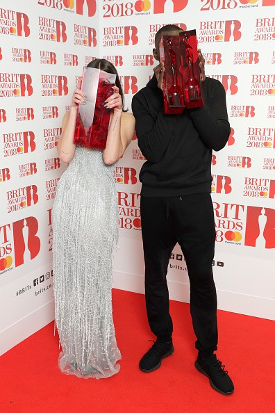 BRIT Awards 2018,BRIT Awards,Dua Lipa and Stormzy,Dua Lipa,Stormzy,O2 Arena,Brit awards pics,Brit awards images