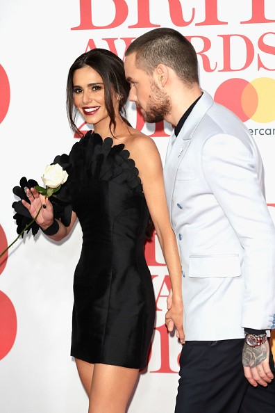 Liam Payne and Cheryl Cole,Liam Payne,Cheryl Cole,Brit Awards 2018,Brit Awards 2018 red carpet