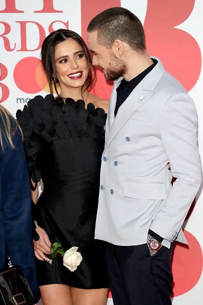 Liam Payne and Cheryl Cole,Liam Payne,Cheryl Cole,Brit Awards 2018,Brit Awards 2018 red carpet