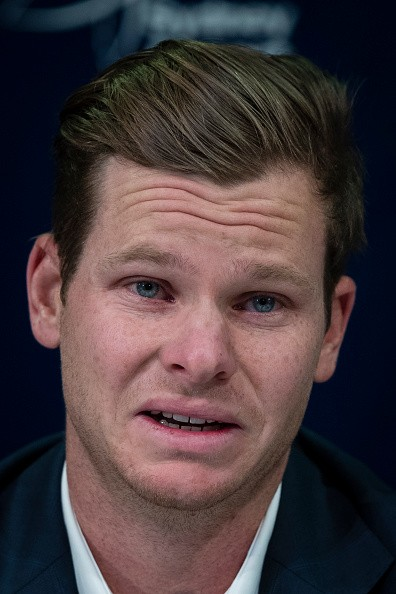 Ball-tampering scandal,Ball-tampering,Steve Smith breaks down,Steve Smith,Steve Smith cries,Steve Smith ball tampering,steve smith cheat,Steve Smith apologised