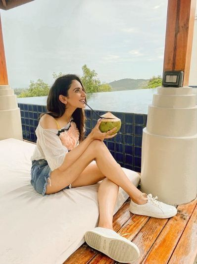 Rakul preet singh,rakul preet,rakul preet holiday in thailand,rakul preet thailand,rakul preet singh in shorts