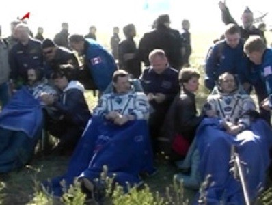 Expedition 35 crew members