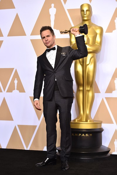 Sam Rockwell,best supporting actor,Three Billboards,Sam Rockwell wins first Oscar,Oscars 2018,Oscars 2018 pics,Oscars 2018 winners