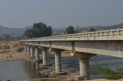 Sindh River Bridge leading to Ratangarh Temple