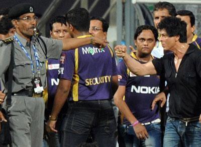 SRK banned to enter Wankhede