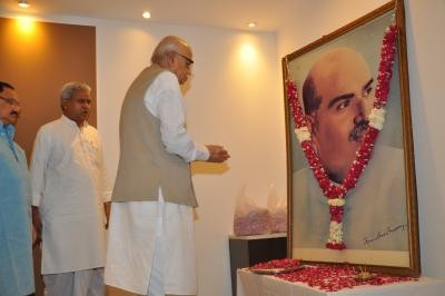 LK Advani and Shyama Prasad Mukherjee