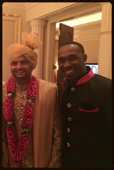 Suresh Raina and Priyanka Chaudhary Wedding Photos