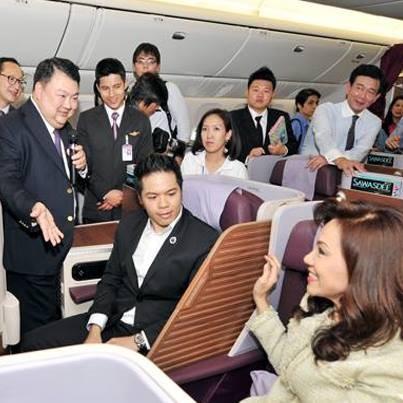 THAI AIRWAYS Introduces the