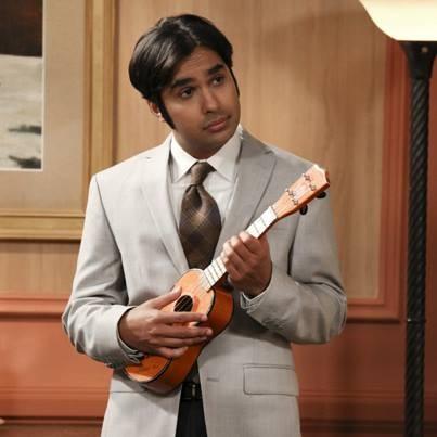 Kunal Nayyar as Rajesh Koothrapali in 'TBBT'