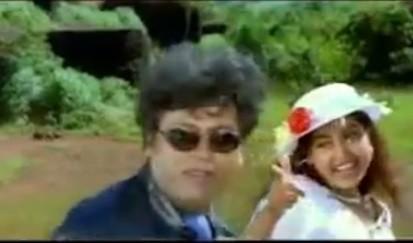 A still from Ravindranth's film 'Nammoora Huduga'