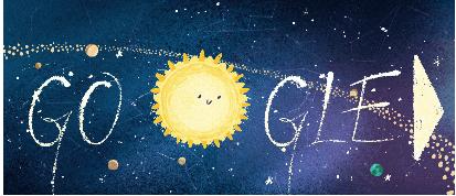 geminid meteor google doodle