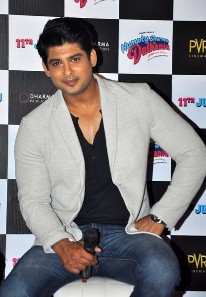 Siddharth Rana  at Trailer launch of upcoming film 'Humpy Sharma Ki Dulhania'