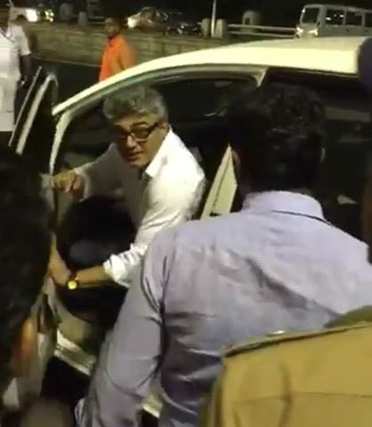 Ajith,Thala ajith,Ajith and Shalini pay their homage to Jayalalithaa,Ajith pays homage to Jayalalithaa,Shalini Ajith pays homage to Jayalalithaa,Jayalalithaa