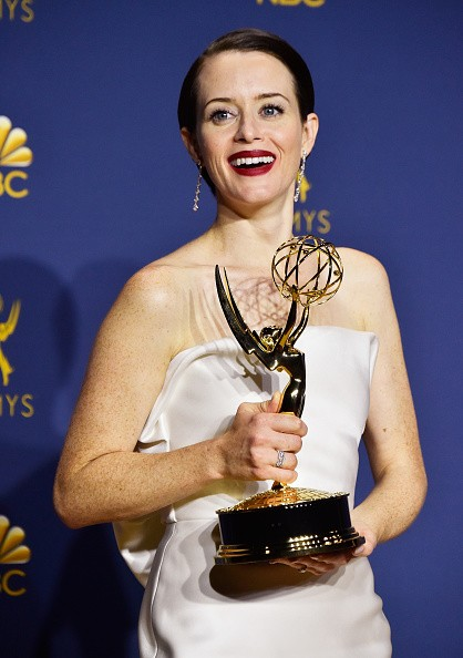 Claire Foy wins 2018,Claire Foy,best actress,best actress in a drama series,The Crown,The Crown actress