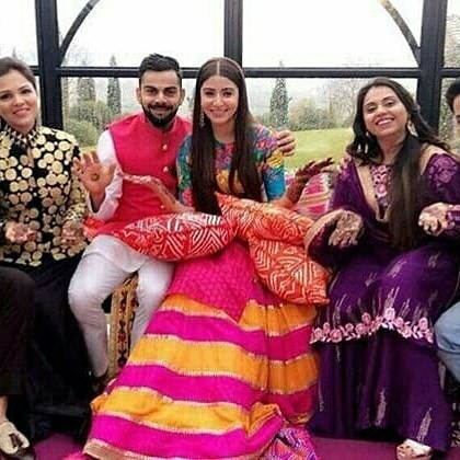 Anushka Sharma,Virat Kohli,Anushka Sharma Mehendi ceremony,Anushka Sharma Mehendi ceremony pics,Anushka Sharma Mehendi ceremony images,Anushka Sharma Mehendi ceremony stills,Anushka Sharma Mehendi ceremony pictures,Anushka Sharma Mehendi ceremony photos