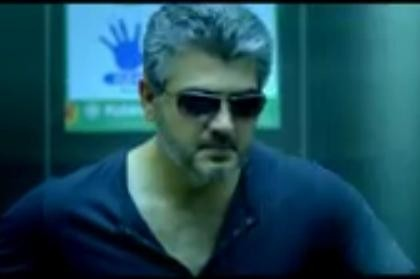 "Ajith (Screenshot from ""Arrambam"" official trailer/YouTube)"