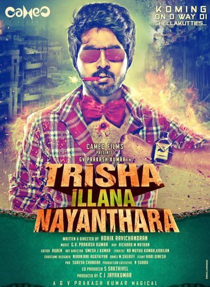 Simran to Play Pivotal Role in GV Prakash's 'Trisha Illana