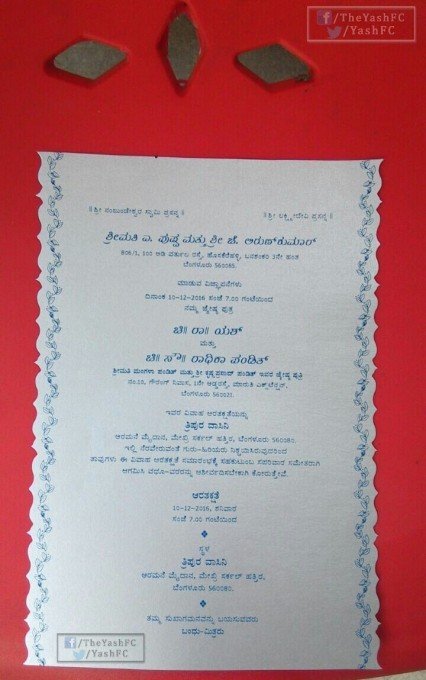 Yash and Radhika Pandit,Yash,Radhika Pandit,Yash and Radhika Pandit wedding,Yash and Radhika Pandit marriage,Yash and Radhika Pandit wedding invitation,Yash and Radhika Pandit wedding pics,Yash and Radhika Pandit wedding images,Yash and Radhika Pandit wed