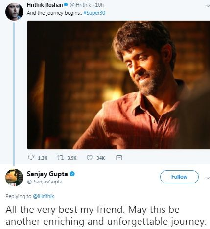 Hrithik Roshan,actor Hrithik Roshan,Super 30,hrithik roshan super 30,Super 30 first look