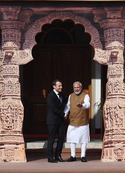 French President Emmanuel Macron,Emmanuel Macron,Emmanuel Macron in India,Emmanuel Macron best moments,Emmanuel Macron best moments in India