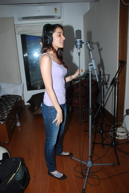 Varun Dhawan,Shraddha Kapoor,ABCD 2,abcd 2 rap song recording