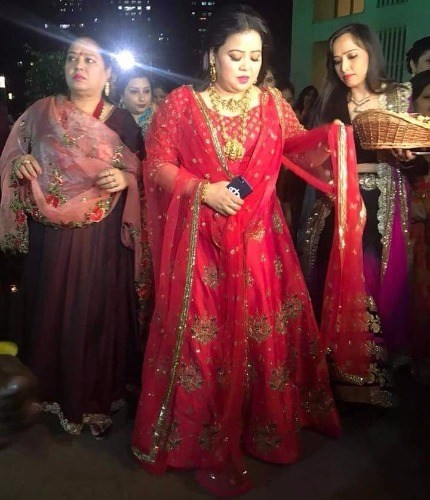 Bharti Singh and Harsh Limbachiyaa,Bharti Singh and Harsh Limbachiyaa wedding,Bharti Singh and Harsh Limbachiyaa marriage,Bharti Singh,Bharti Singh Bangle Ceremony