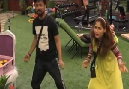Siddharth Dey and Arti Singh in Bigg Boss 13