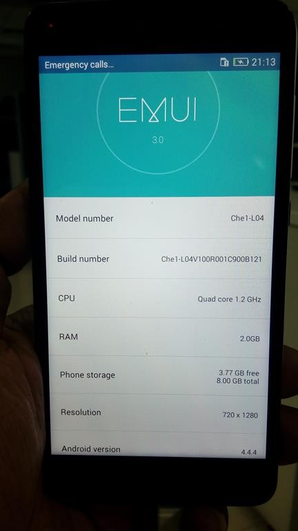Huawei Honor 4X Specifications