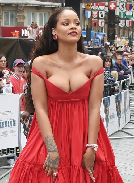 Rihanna suffers wardrobe malfunction,Rihanna wardrobe malfunction,Valerian and the City of a Thousand Planets,Rihanna,Rihanna ample assets,Rihanna ample assets pics,Rihanna ample assets images,Rihanna ample assets stills,Rihanna ample assets pictures