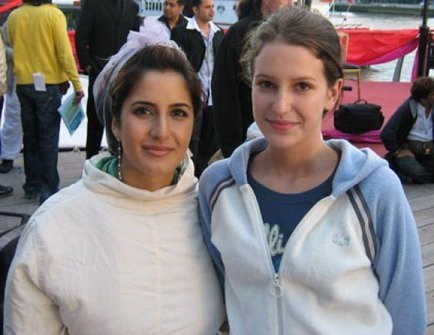 Katrina Kaif and her younger sister Isabel